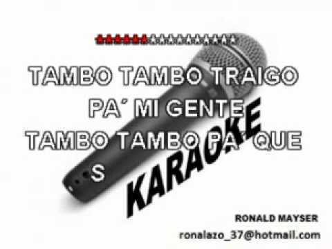 LA PALOMITAALBERTO BARROSKARAOKE