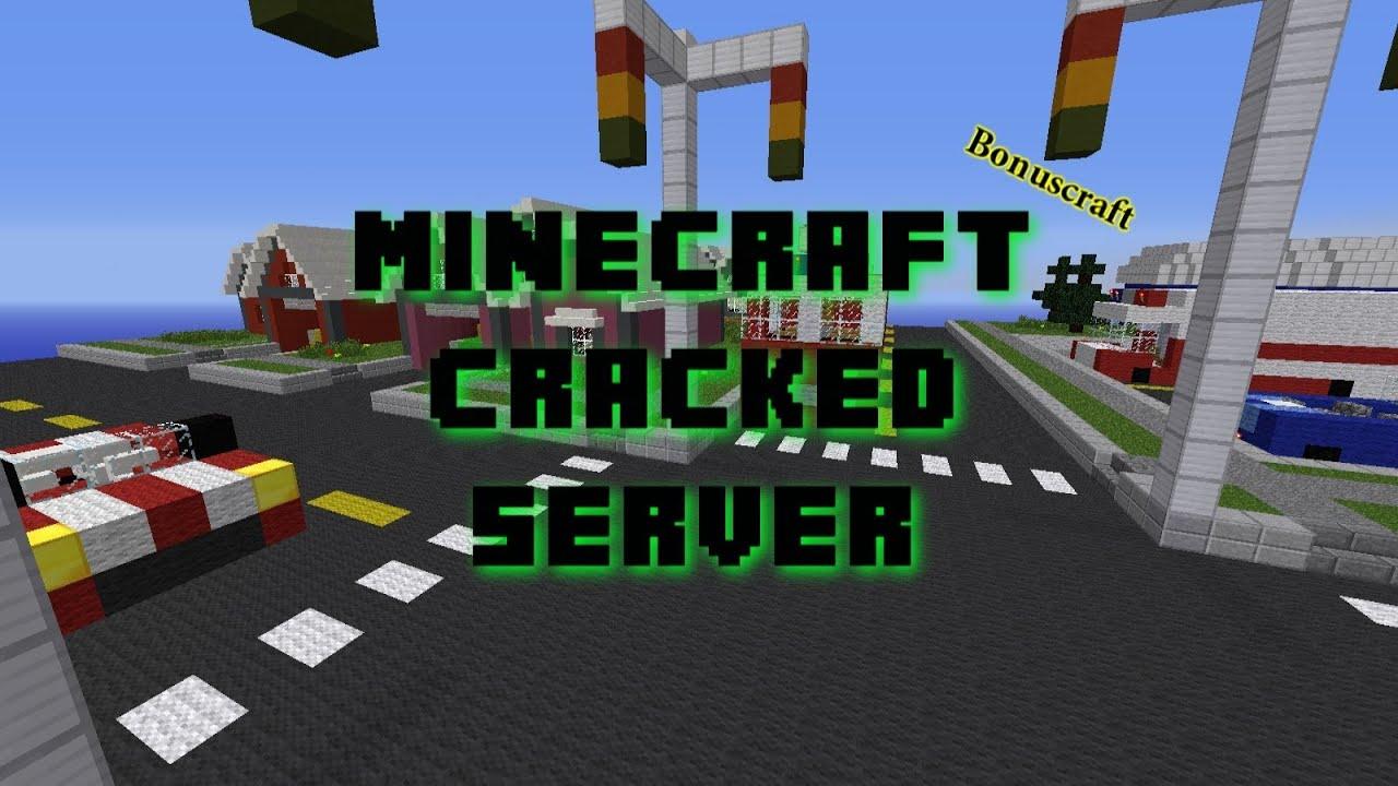 Minecraft Cracked Server 1.8 24/7 (BonusCraft) - YouTube