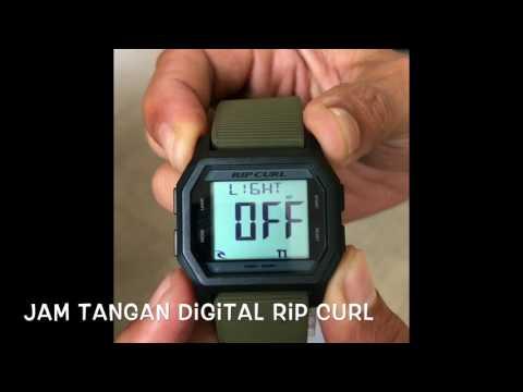 Jam Tangan Digital Rip Curl - Fungsi dan Cara Setting