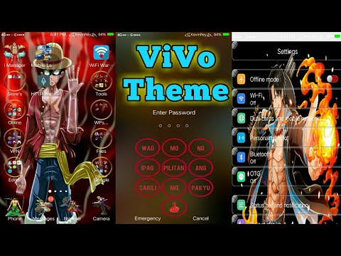 One Piece Theme For Any Vivo Phone