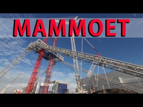 4# Mammoet Crane Heavy Lift 1,800 Tons Highest Gantry Crane