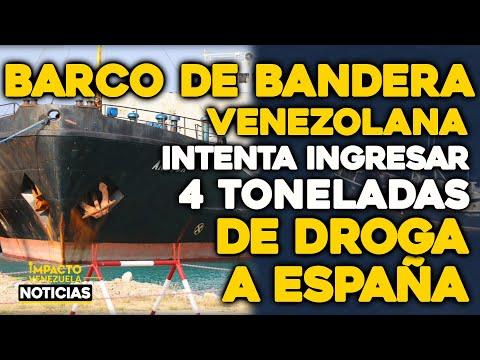 BARCO DE BANDERA VENEZOLANA intenta ingresar 4 toneladas de