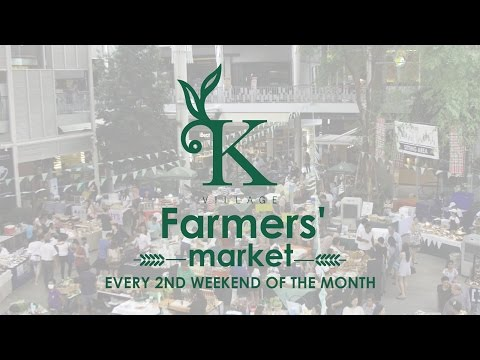 Bangkok trendiest farmer's market at K Village Sukhumvit 26 | Coconuts TV