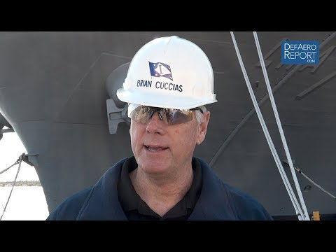 Ingalls Shipbuilding's Cuccias on Shipyard Upgrades, USS Tripoli, Maritime Security