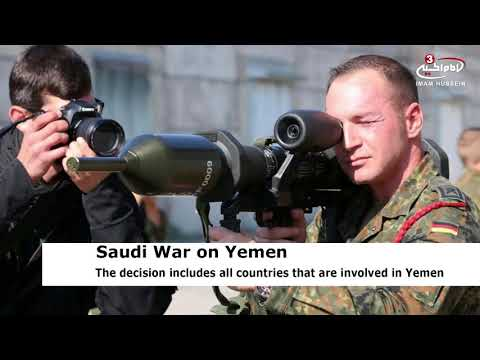 Germany stops arms sales to Saudi Arabia
