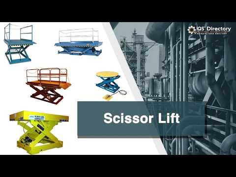 Scissor Lift Manufacturers Suppliers   IQS Directory