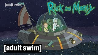 Rick and Morty | Welt-UFO-Tag | Adult Swim