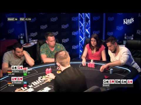 CASH KINGS E45 2/2 - DE - NLH 2/5 ante 5 - Live cash game poker show