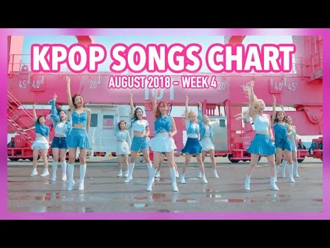 K-POP SONGS CHART | AUGUST 2018 (WEEK 4)