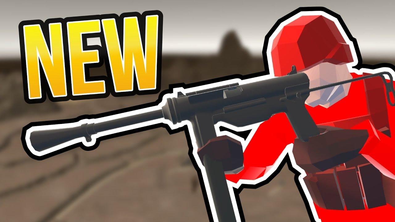 NEW SUBMACHINE GUN IN RAVENFIELD | Ravenfield Build 3 Beta Branch Gameplay