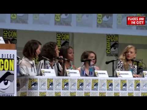 Women Who Kick Ass Comic Con Panel: Maisie Williams, Natalie Dormer, Tatiana Maslany, Nicole Beharie