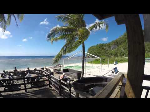 Gunn Beach - Beach Bar - Guam - 2016 - 4K