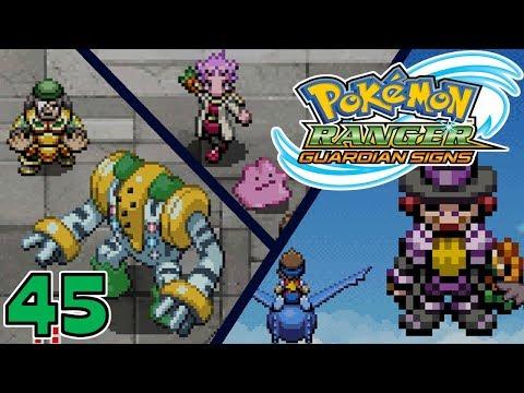 Pokémon Ranger: Guardian Signs   Part 45 - Defeating Kasa, Arley And Hocus