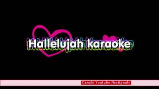 Halleluja karaoke Leonard Cohen