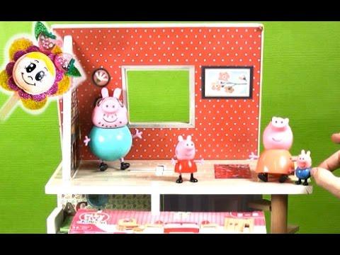 PEPPA PIG ESTRENA HABITACION PARA ELLA SOLA! / Juguetes Cerdita Pepa