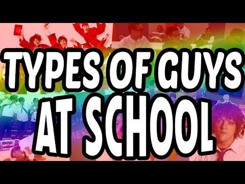 Types of Guys at School   CB