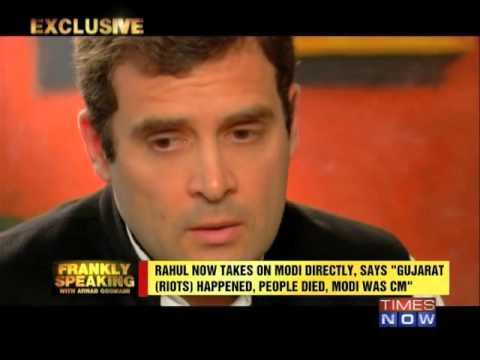 Frankly Speaking with Rahul Gandhi