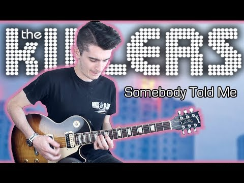 The Killers - Somebody Told Me (Guitar & Bass Cover W/ Tabs)