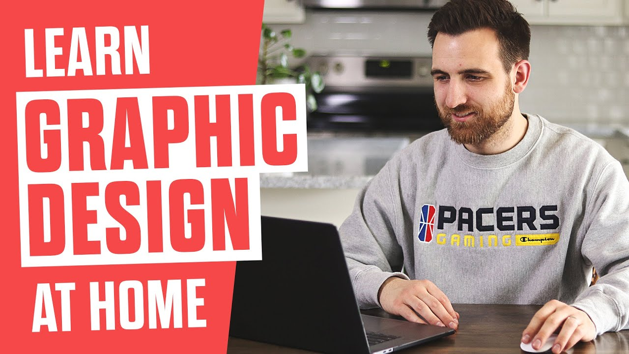 How To Learn Graphic Design At Home Youtube