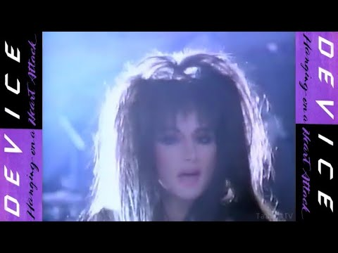 Device - Hanging on a Heart Attack | PROPER Official Video | 480p HQ | ©1986 Chrysalis Records