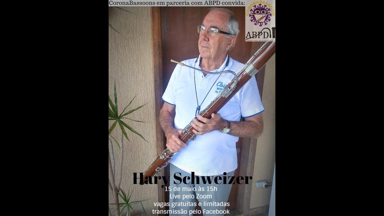 Live com o professor Hary Schweizer