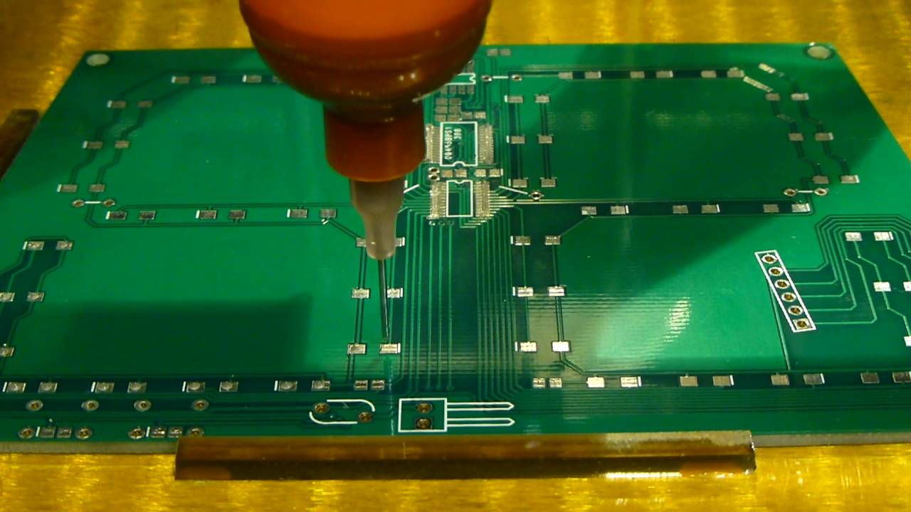 Print Your Circuit Boards Dispense Solder Paste And Reflow The