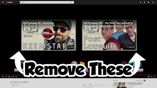 How to Remove New YouTube End Card (2017-2018)