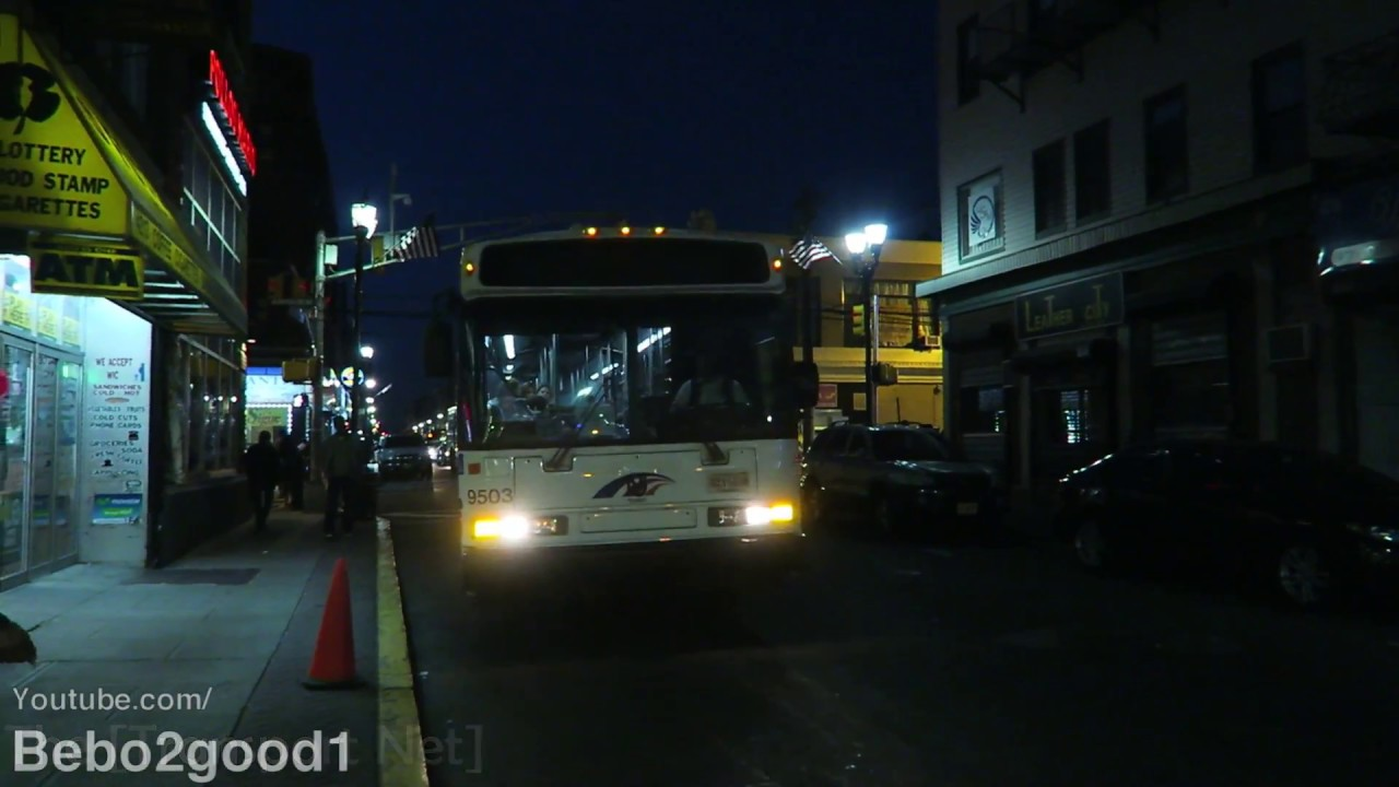 Nj Transit Bus Two Neoplan An459 Buses On Route 159 Youtube