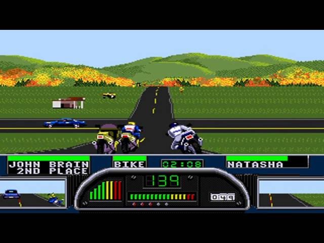 Road Rash II Walkthrough