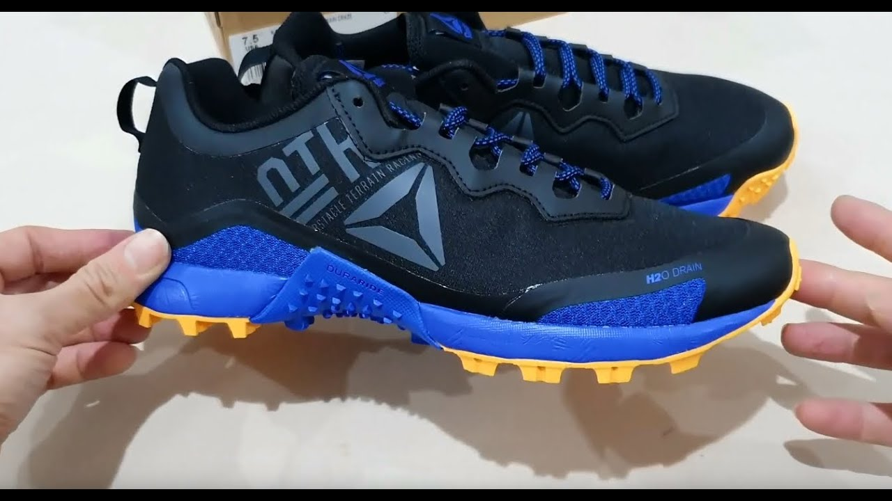 Marquesina volatilidad diseñador  Unboxing REEBOK CROSSFIT ALL TERRAIN CRAZE CN6338 TRAIL OUTDOOR RUNNING  SHOES (100% ASLI & RESMI) - YouTube