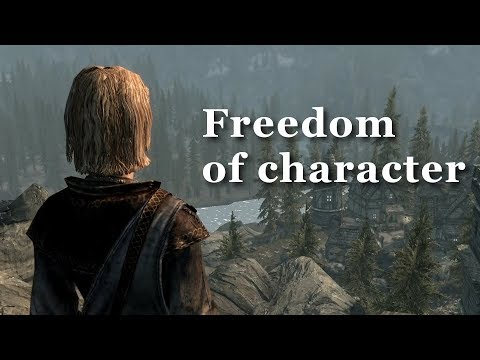 SKYRIM: Freedom of Character