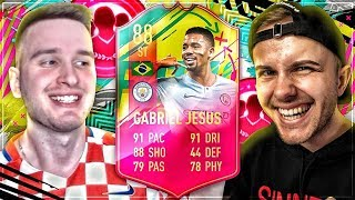 FIFA 19: CARNIBALL GABRIEL JESUS SQUAD BUILDER BATTLE vs GamerBrother🔥🔥