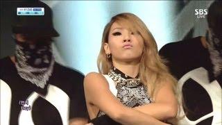 cl0630sbs inkigayo나쁜 기집애 the baddest female
