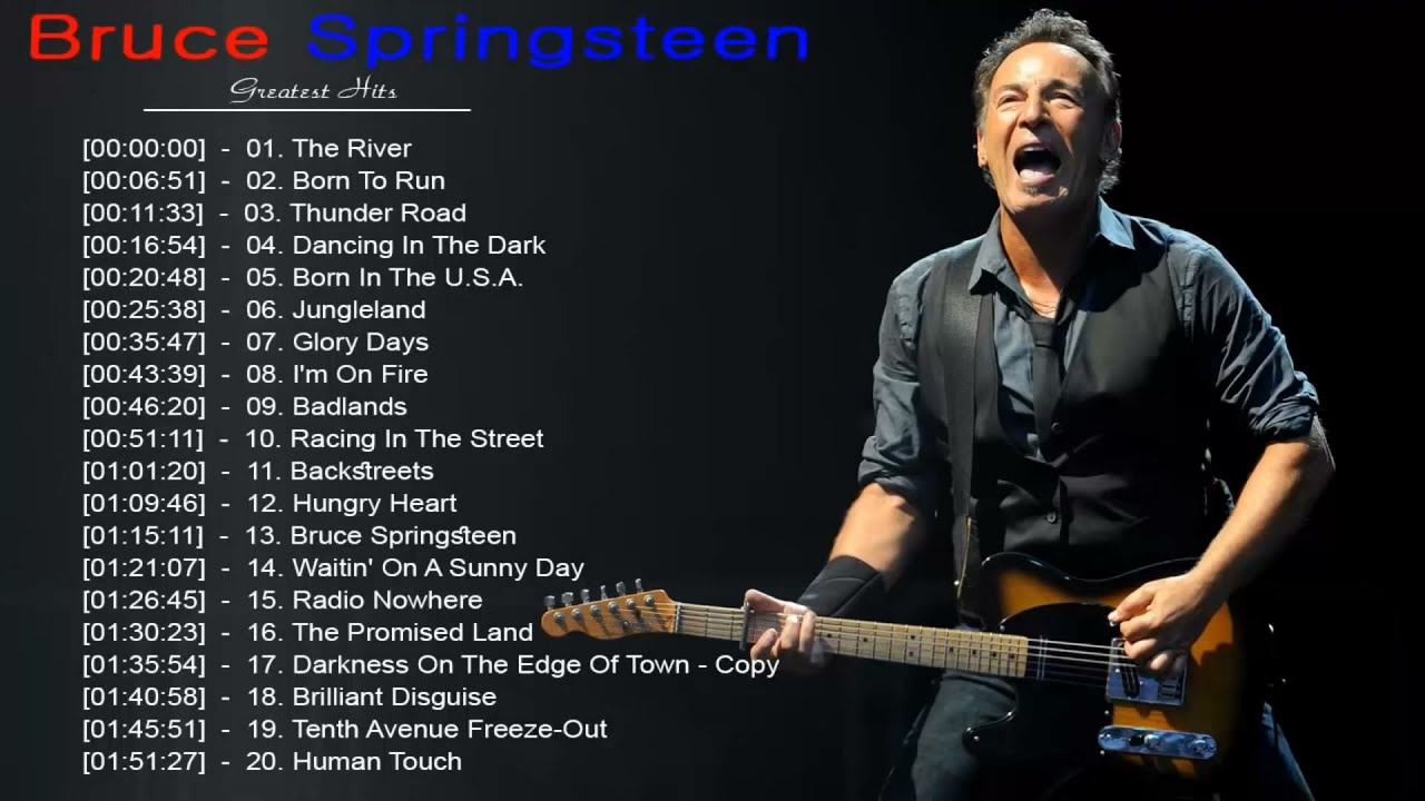 Download Bruce Springsteen Collection - Bruce Springsteen Greatest Hits Live