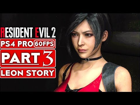 RESIDENT EVIL 2 REMAKE Gameplay Walkthrough Part 3 Leon Story [1080p HD 60FPS PS4] - No Commentary