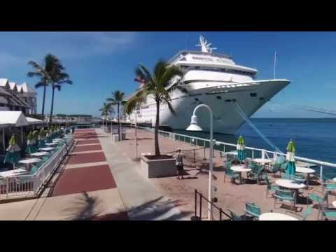 Carnival Cruise: Miami - Key West- Cozumel. 4K video