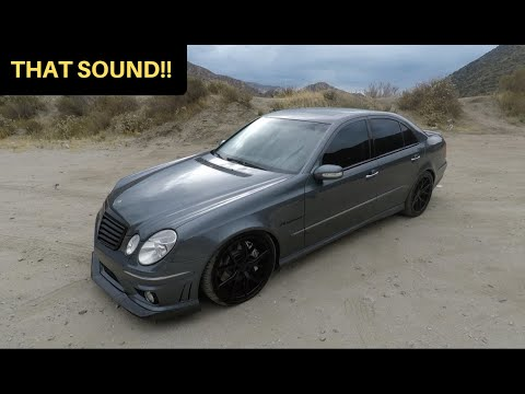 481WHP Mercedes E55 AMG! – One Take