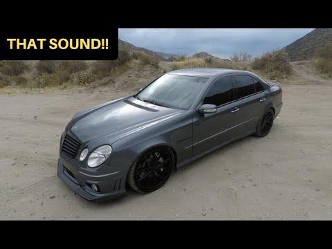 481WHP Mercedes E55 AMG! – One Take