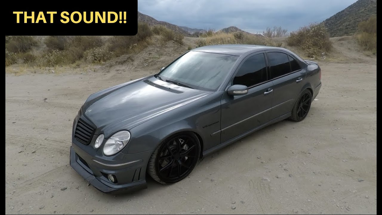 Download 481WHP Mercedes E55 AMG! - One Take