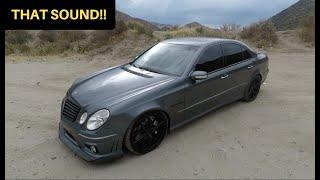 481WHP Mercedes E55 AMG! - One Take