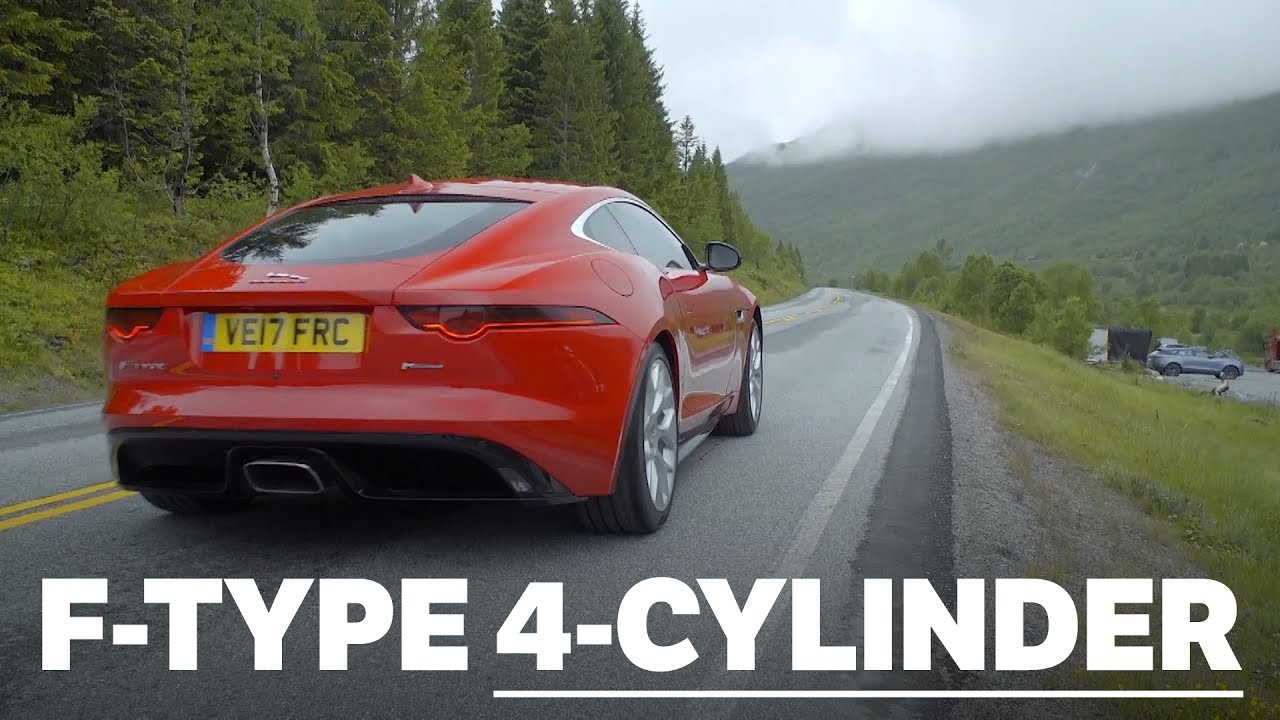 Jaguar F-Type Four-Cylinder: Pure Engine And Exhaust Noise