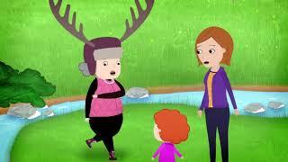 мультфильм Disney - Нине Надо Выйти! - серия 10 - Поход | сериал для малышей