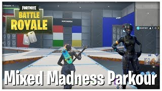 Fortnite Mixed Madness (mikkelrh's parkour map, map code)