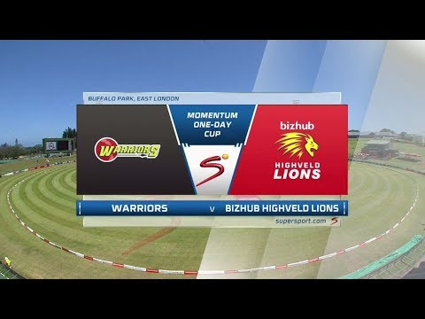 Momentum One-Day Cup 2017/2018 - Warriors vs Highveld Lions