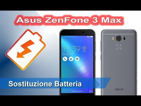 Asus ZenFone 3 Max ZC553KL / X00DD sostituzione batteria - Battery Replacement
