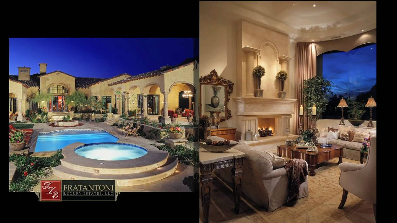 Scottsdale Arizona Custom Home Builders Fratantoni Luxury