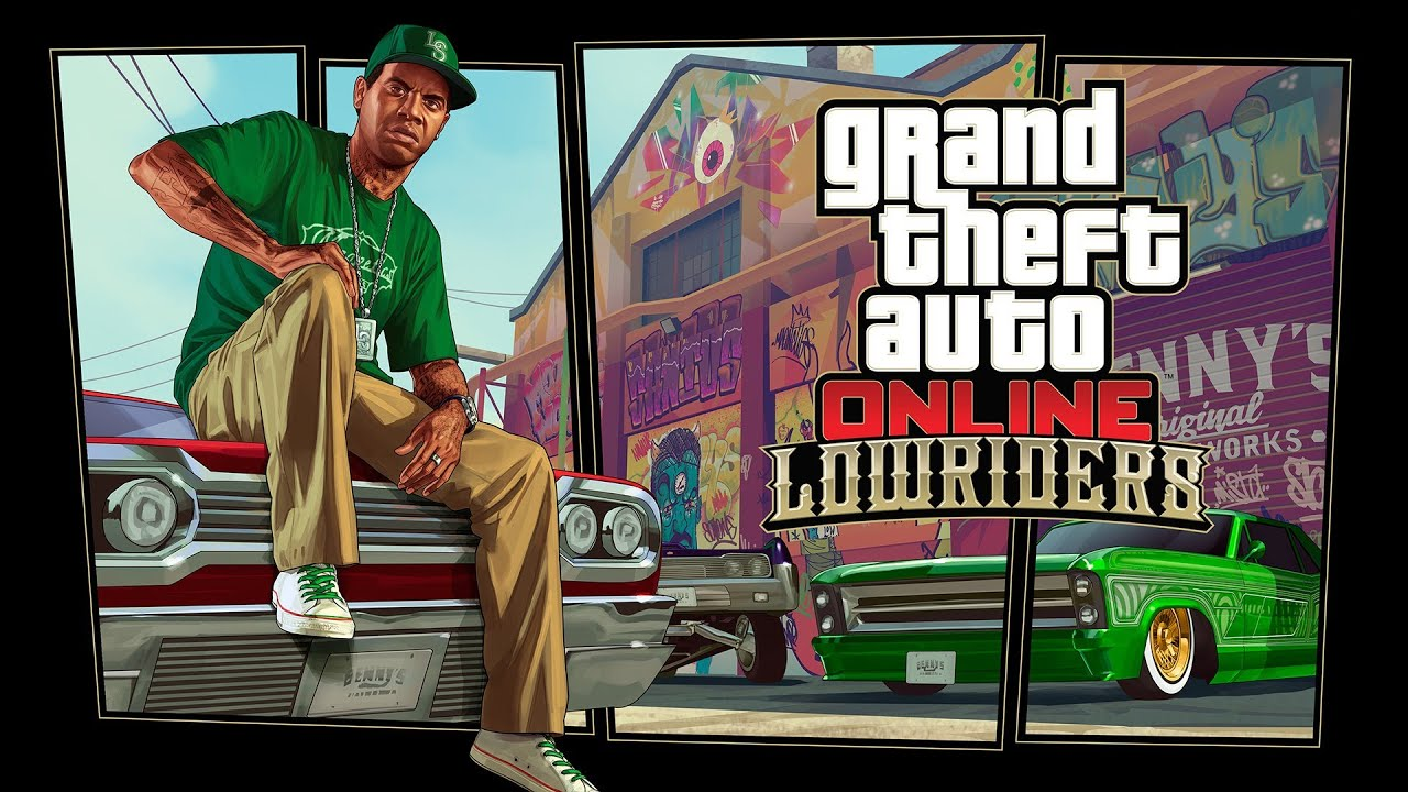 GTA 5 Online Lowrider DLC Official HD Trailer Update Grand Theft Auto V Lowriders