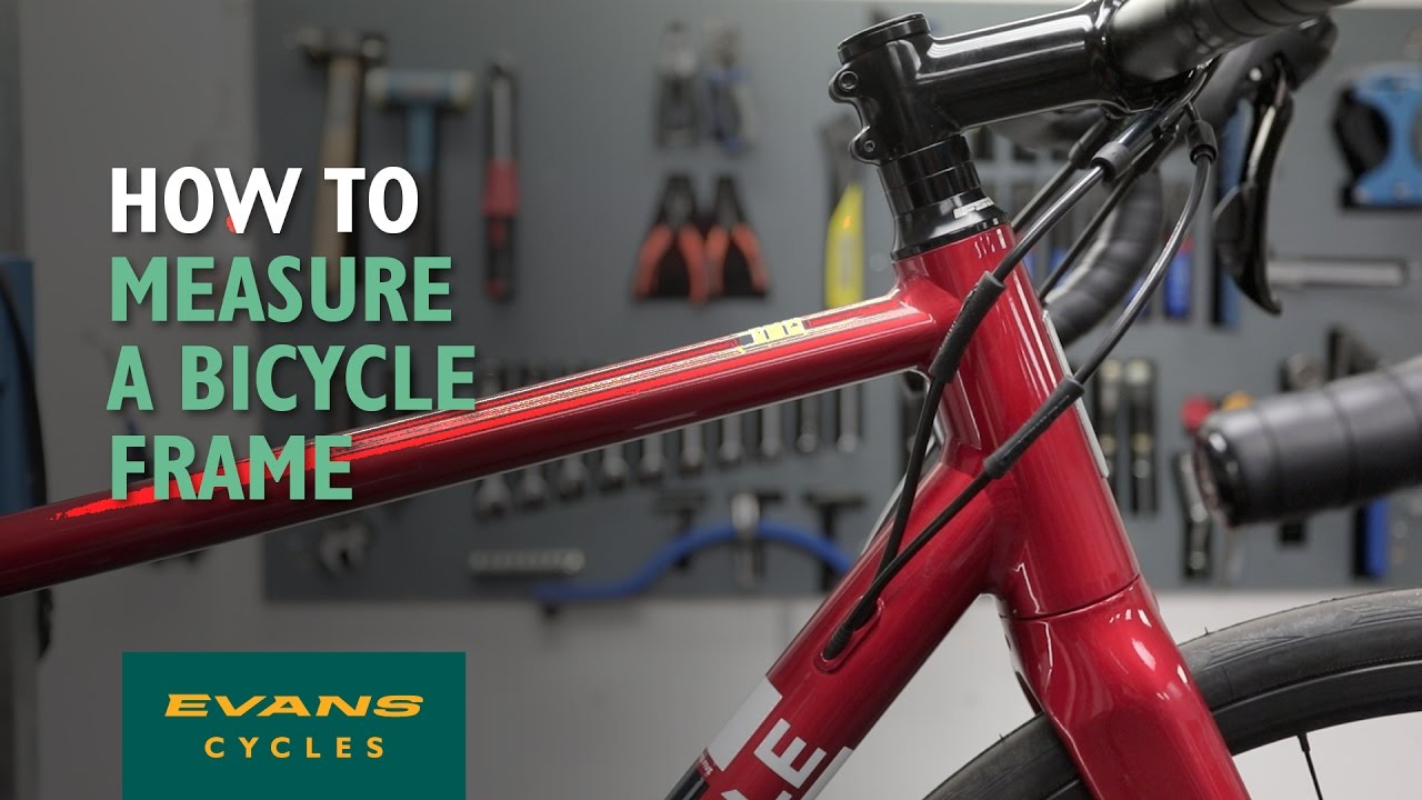 How do you figure out the size in inches of your bike frame size?