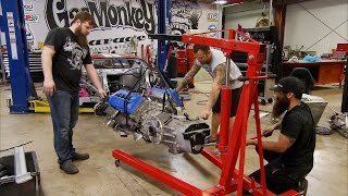 Slinging a Ford GT Engine