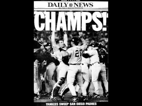 1998-WFAN: Joe Benigno Show After Yankees Win World Series